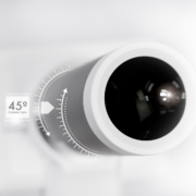 Auto Focus Camera with Lens 45 degree