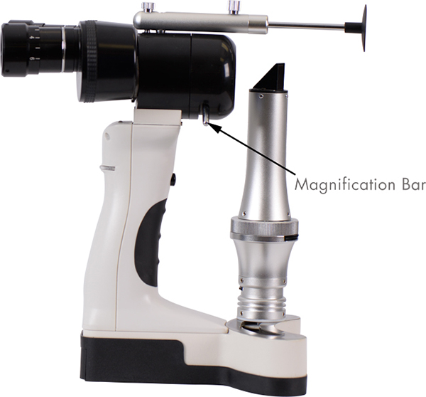 slit lamp esl-700 2x ezer - us ophthalmic