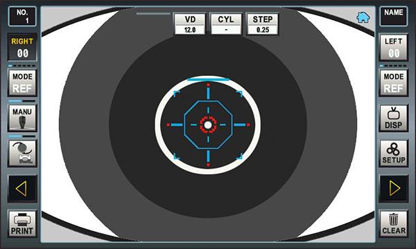 autorefractor keratometer erk-5400 ezer - us ophthalmic