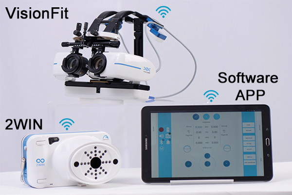 mobile wireless refraction system adaptica - us ophthalmic