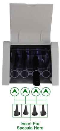 EZ-TIP-4200 Reuseable ear specula 4.2mm for 3.5V Otoscope 200 pcs Ezer - us ophthalmic